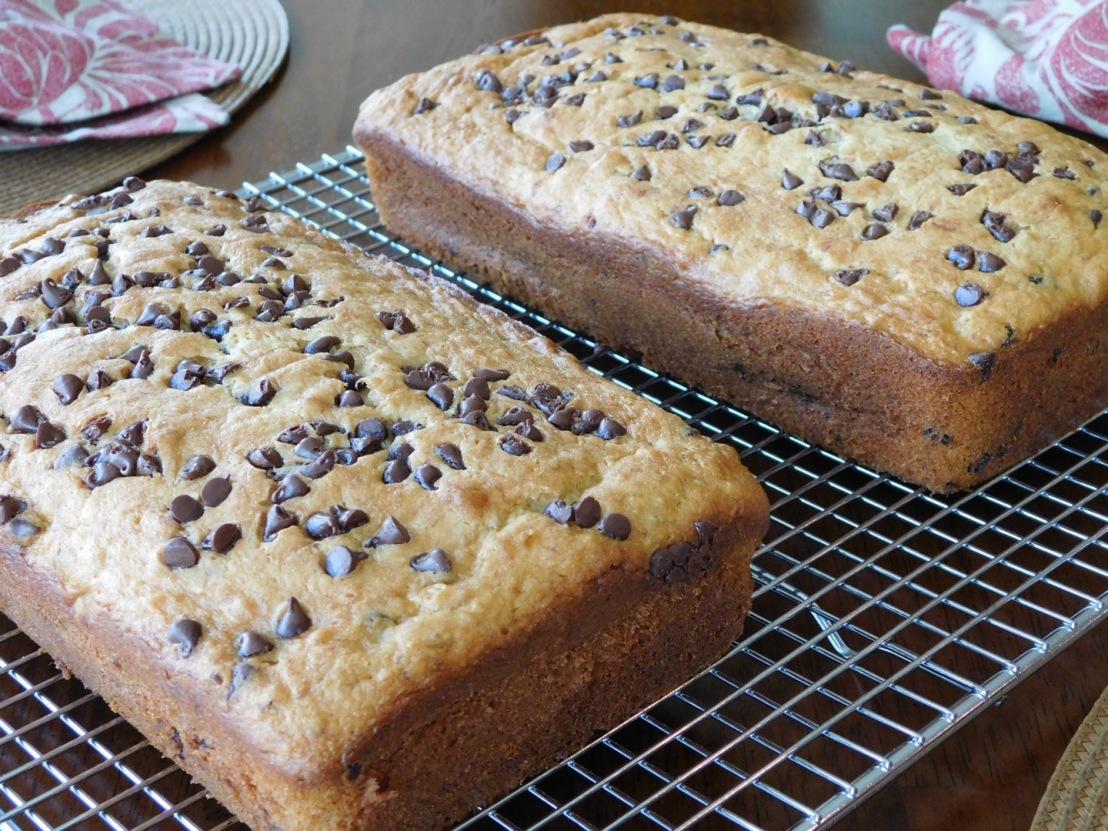 Chocolate Chip Banana Bread…I meancake!